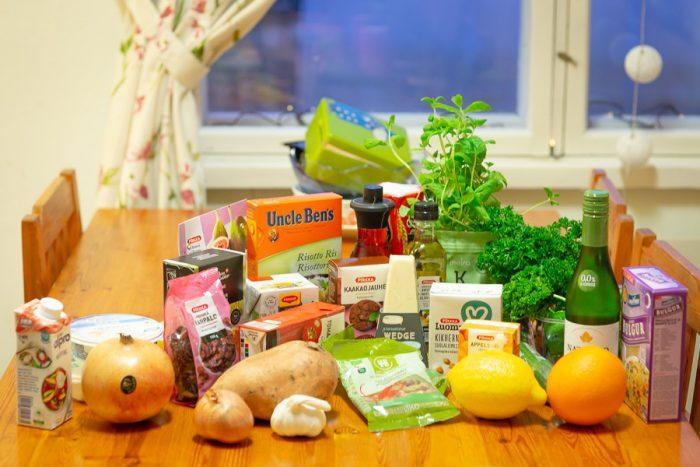 Ruoka-aineet